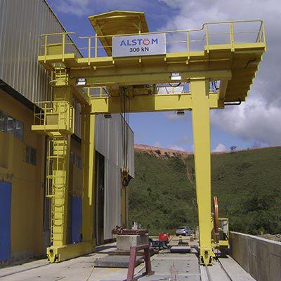 Assistência técnica de ponte rolante