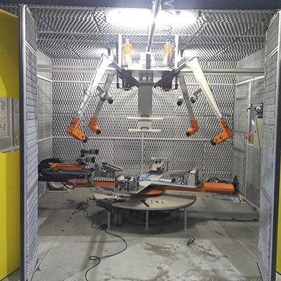 Empresa especializada no desenvolvimento de máquinas