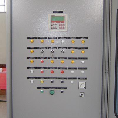 Painel de distribuição elétrica industrial