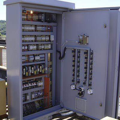 projetos para automação de equipamentos UHE's